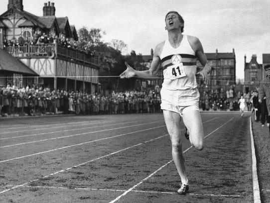 Roger Bannister, track, 1929-2018