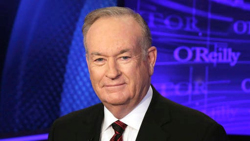"""FILE - In this Oct. 1, 2015 file photo, Bill O'Reilly of the Fox News Channel program """"The O'Reilly Factor,"""" poses for photos in New York. The New York Times reported that Juliet Huddy, a former Fox News personality who accused O'Reilly of sexual harassment, was paid a sum in the high six figures by the network's parent company in exchange for her silence and agreement not to sue. The secret agreement was reportedly struck between Huddy and network parent 21st Century Fox in September 2016, weeks after Roger Ailes was ousted as network chairman amid a sexual harassment scandal."""