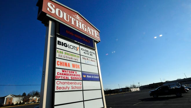 Southgate Shopping Center, in the west end of Chambersburg borough, is to soon be home to 54 new townhouses to join the existing Washington Square Town Home complex.