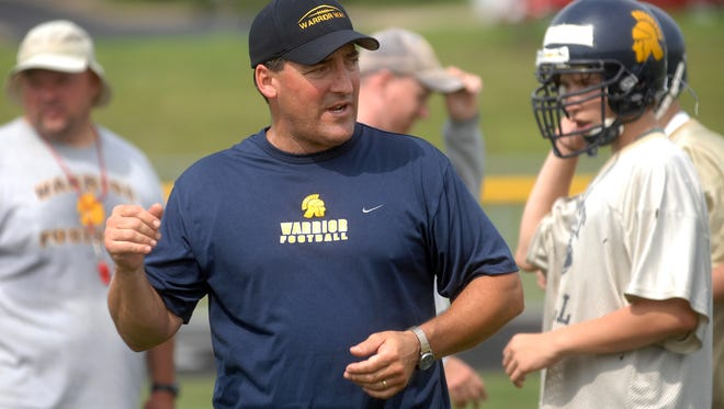 Kevin Grundy led the Wausau West football team to the playoffs five times in his 10 years with the program.