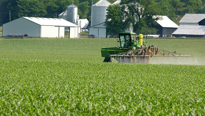 Indiana Department of Environmental Management sampling has detected agricultural week killer breakdown products in private residential water wells throughout the state.
