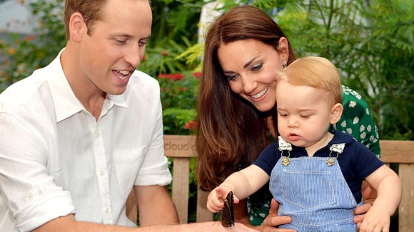 Will and Kate and George