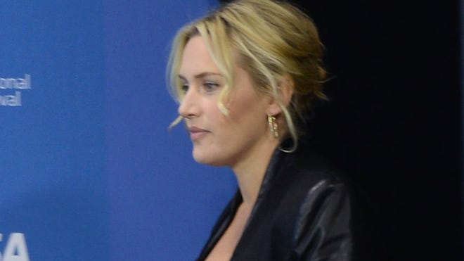 Kate Winslet attends the 'Labor Day' news conference on Sept. 7.