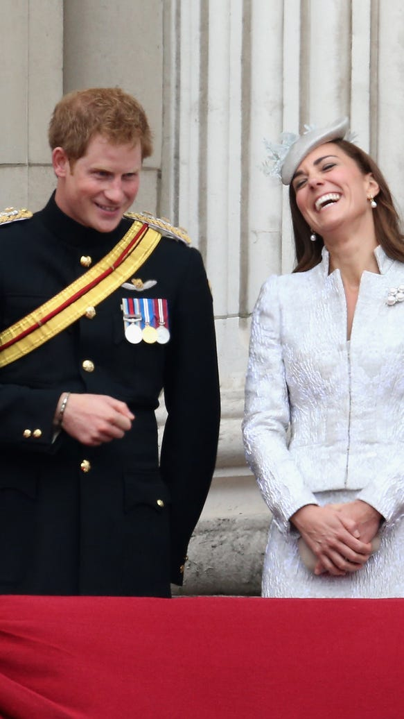 Prince Harry and Duchess Kate
