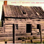 John Hendy moved his family to this cabin at what is now Roricks Glen Parkway in West Elmira in 1788. On their first night in Elmira, the family complained of hearing howling wolves.
