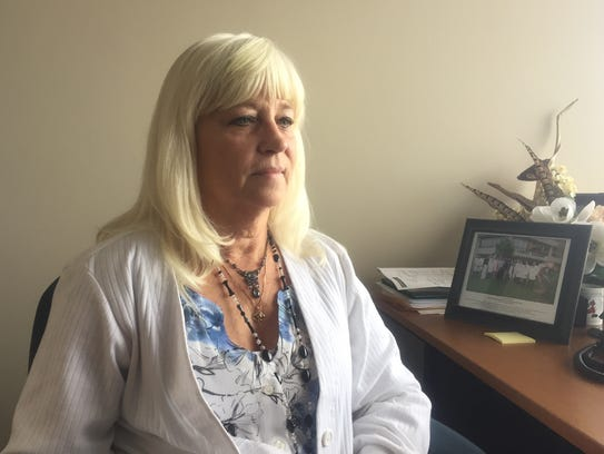 Dawn Grant lost her husband, Jerome, to lung cancer