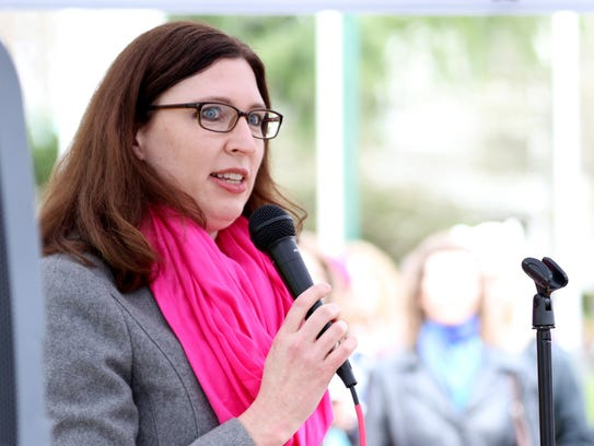 Rep. Julie Fahey, a chief sponsor of House Bill 2232,