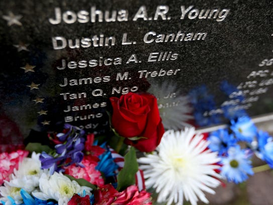 The names of 142 Oregon service members who died in