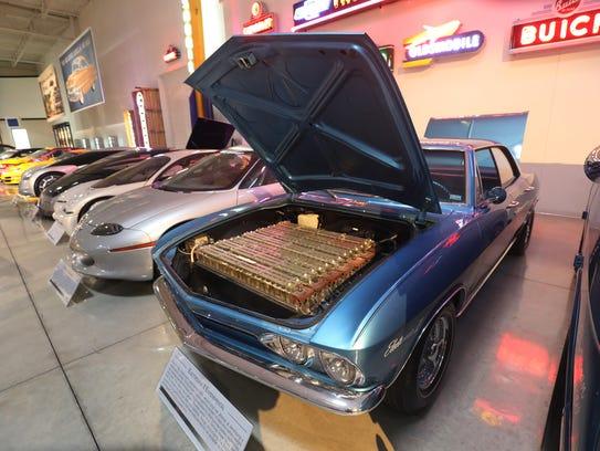 A 1966 General Motors Electrovair II experimental car