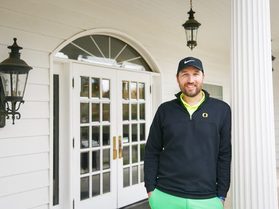 Alan Reese, the new general manager and head pro at Salem Golf Club, on Thursday, April 29, 2018.