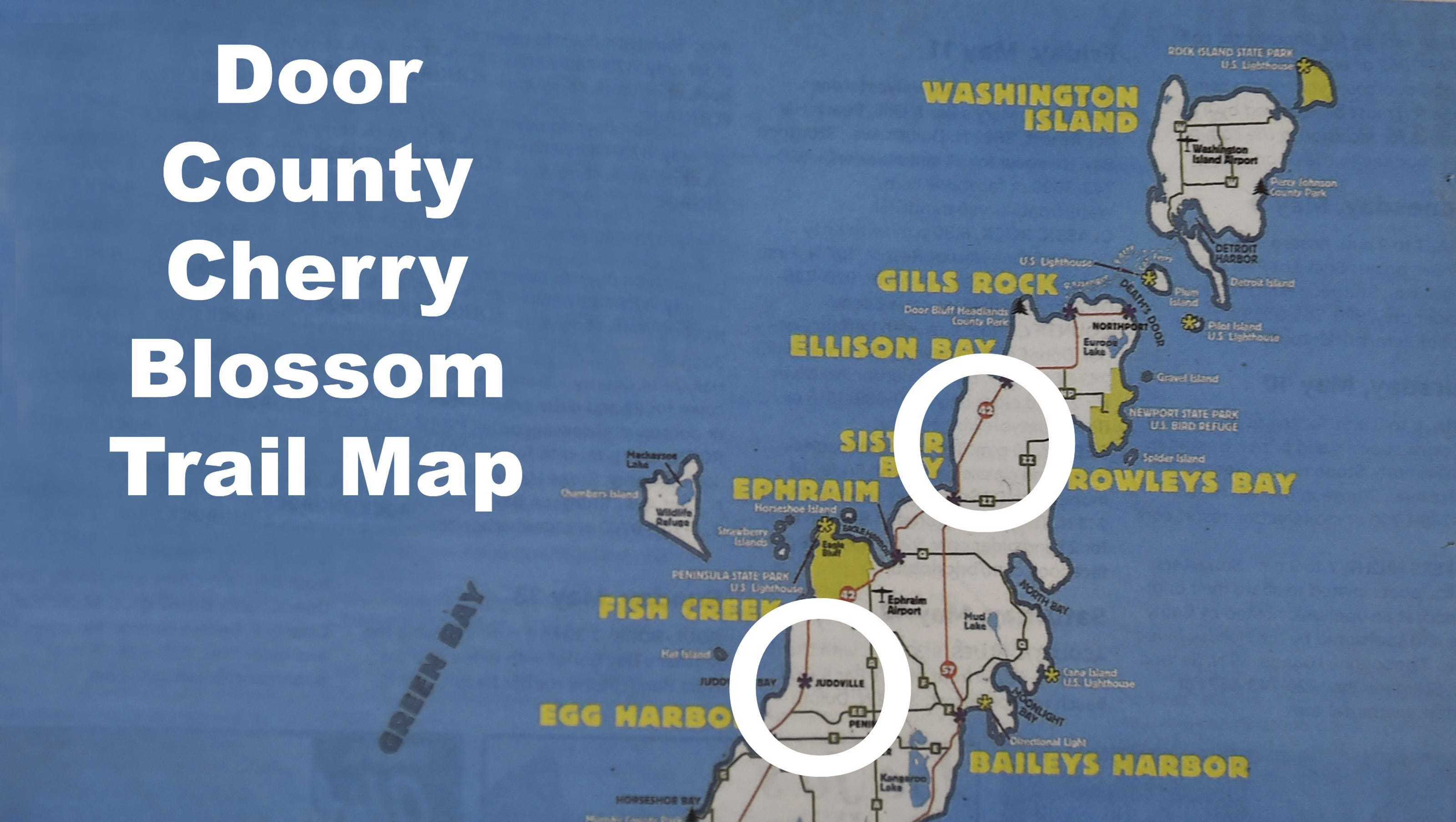 Door County Cherry Trees Begin To Bloom Weekend Might Be
