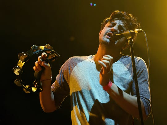 Sameer Gadhia will perform with Young the Giant on Sept. 9 at Old National Centre.