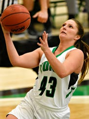 Susquehannock High School graduate Katie Wagner averaged 11.4 points per game last season for York.