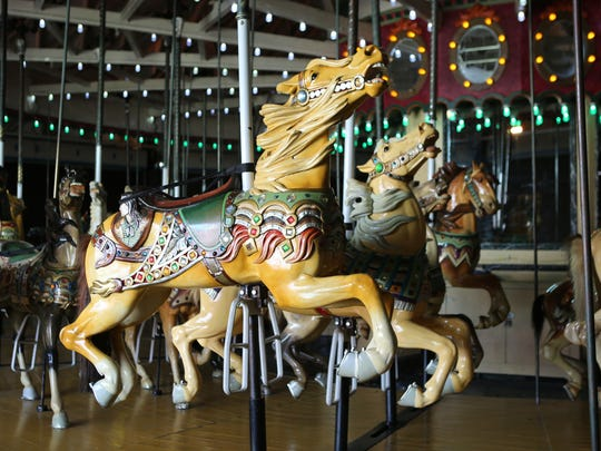 A ride on the 100-year-old Grand Carousel is a must