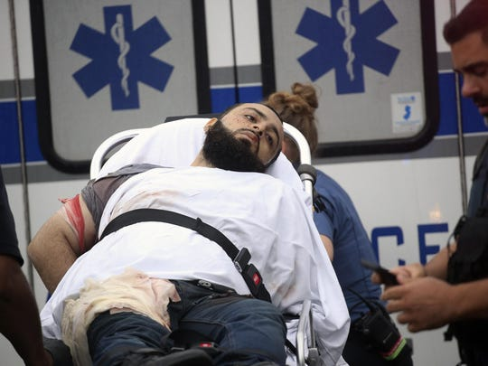 Bombing suspect Ahmad Khan Rahimi was taken into custody