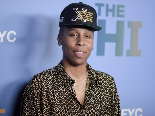 """Lena Waithe attends """"The Chi"""" FYC Event at the Pacific Design Center on Wednesday, April 10, 2019, in Los Angeles. (Photo by Richard Shotwell/Invision/AP)"""