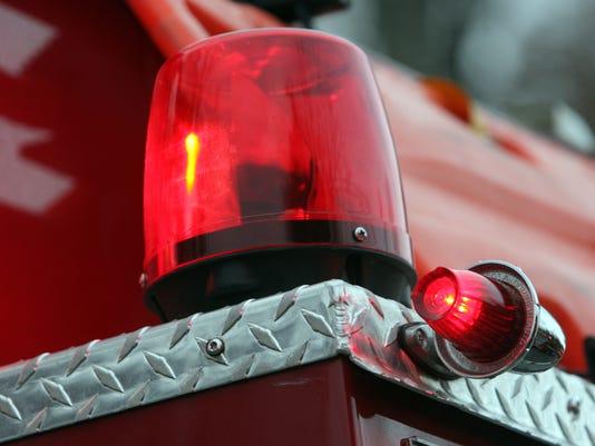 Fire siren light