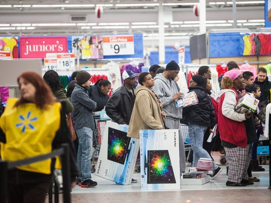 Shoppers Start Black Friday Early
