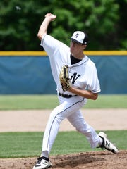 Northville pitcher Ben Schmidt.