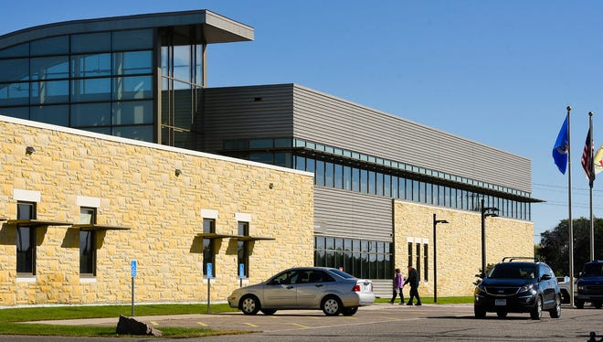Expansion plans are underway for the Stearns County Service Center shown Tuesday, Oct. 10, at  3301 Co Rd 138 in  Waite Park