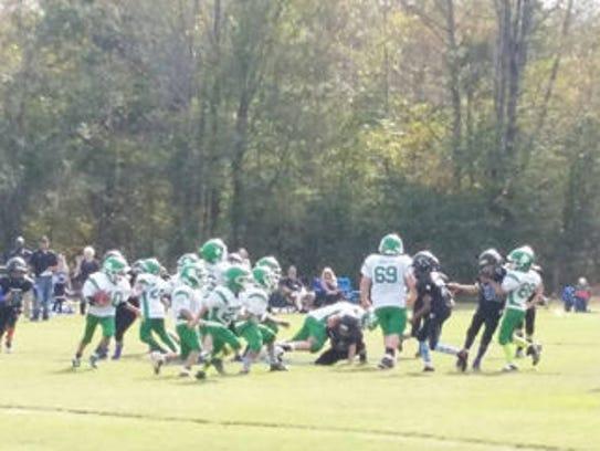 The Fighting Irish Jr. Pro minor team playing against