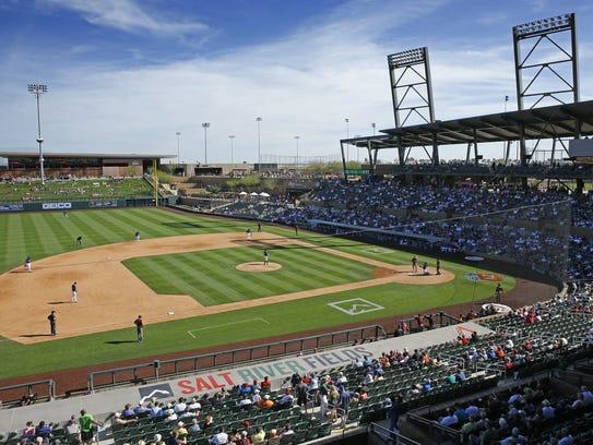 The Arizona Diamondbacks take on the Colorado Rockies