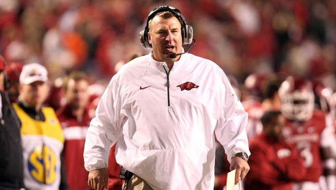 Arkansas coach Bret Bielema remains committed to fact-finding in the ongoing debate about pace of play in college football.