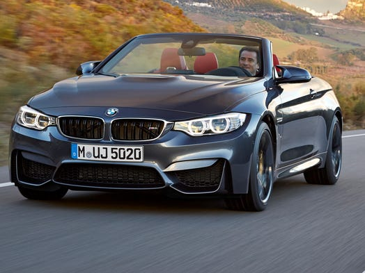 BMW's M4 features new styling