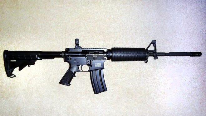 AR-15 type rifle