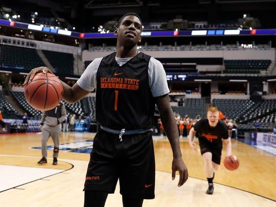 27. Brooklyn Nets | JawunEvans, PG, 6-1, 177, 20, Oklahoma State