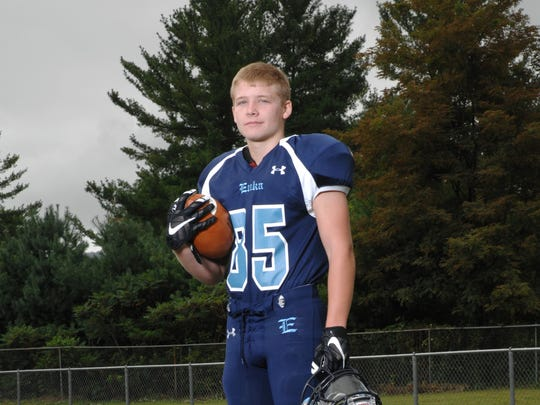 Daniel Stone Arrowood played football for Enka High,