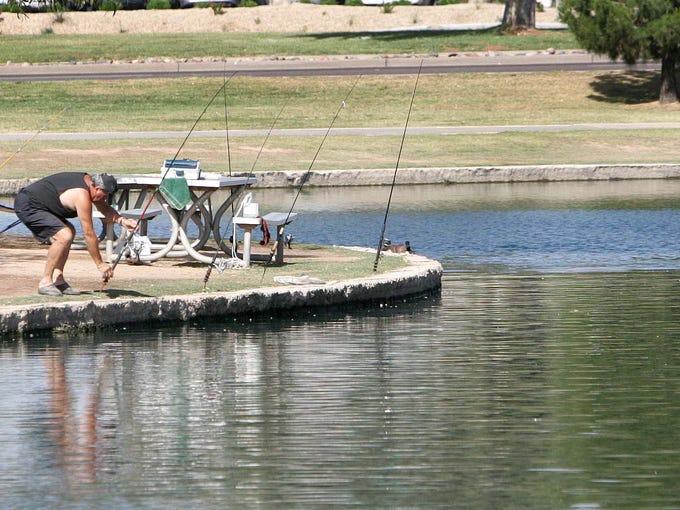 6 fishing spots in the Phoenix metro area