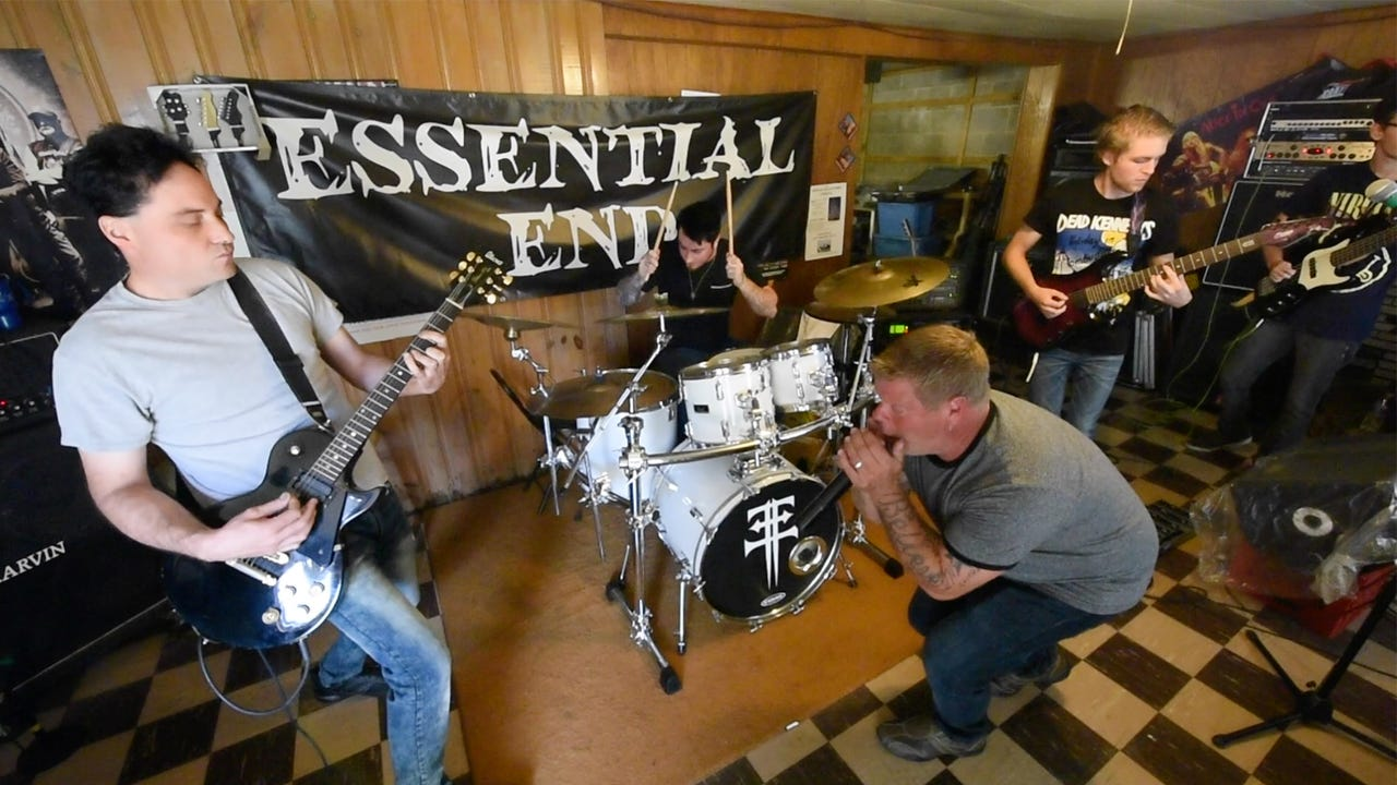 What makes the Red Lion based heavy metal band Essential End unique is their blend of two generations of good friends. Hear practice track: Emergency Exit