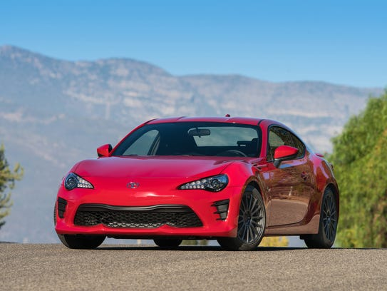 The 2017 Toyota 86 is more responsive than fast.