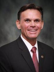 Macomb County Executive Mark Hackel.