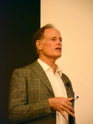 Dr. David Perlmutter, seen here giving a speech at