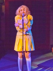 "Olivia Saad as Heather McNamara in ""Heathers: The Musical."""