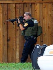 Burkburnett Police took a male and female into custody