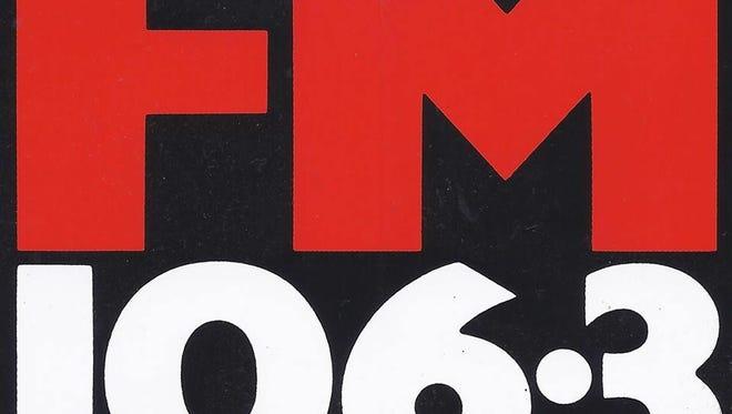 The FM 106.3 logo.