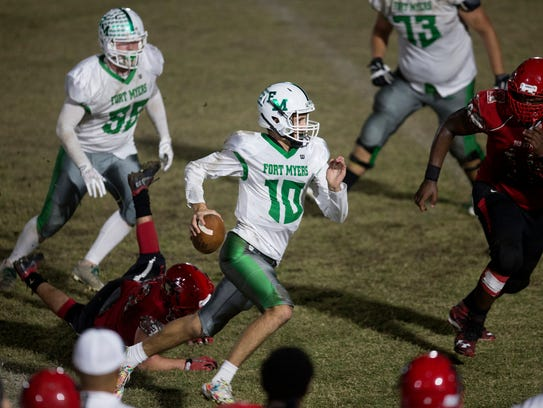 Fort Myers High School will face Naples High School in a Region 6A-3 high school football championship game Friday in Naples.