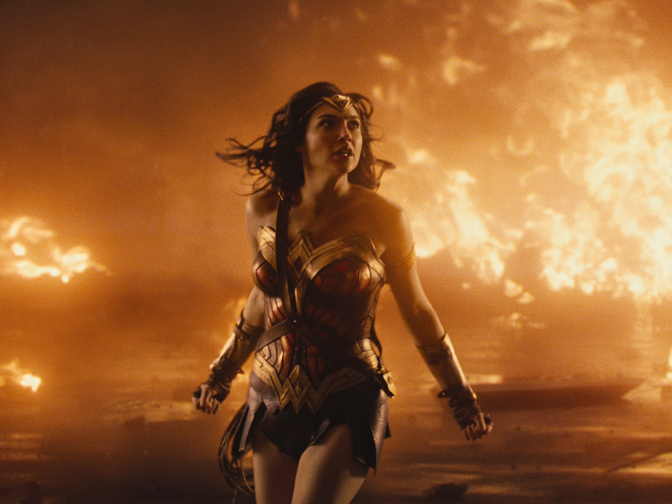 """GAL GADOT as Diana in the action adventure """"WONDER WOMAN,"""" a Warner Bros. Pictures release"""