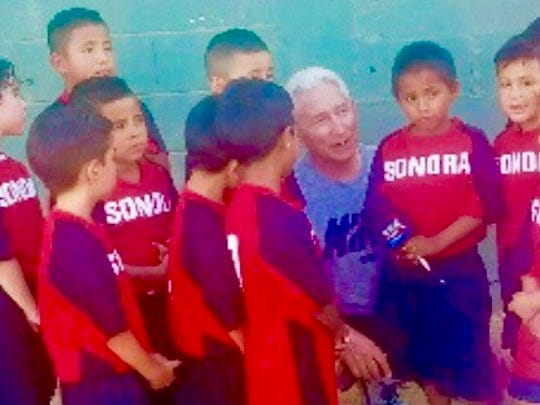 Jeff Scurran is trying to help a team that is representing Sonora to play in early August in Mexico City for a national title.