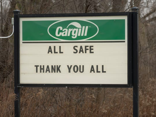 A sign on Route 34 across from the Lansing Fire Department.