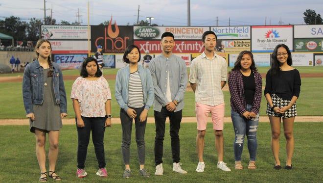 From left to right: Megan Adam, Tanvi Banota, Iris Liu, Simon Llaguno, Bryan Tong, Nancy Tran and Victoria Zhou. Not pictured: Shriya Bhatt, Brigid Meisenbacher and Ashley Rosen.