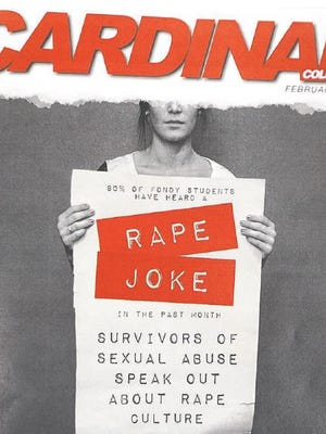 Fond du Lac High School's student publication won first place in the Wisconsin Newspaper Association Contest. Pictured is a 2014 cover of the magazine that drew controversy from school administrators.