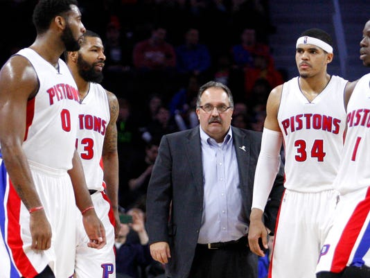 NBA: Milwaukee Bucks at Detroit Pistons