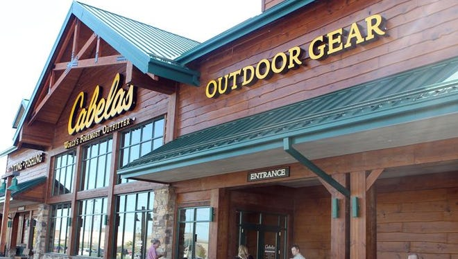 Cabela's in West Chester is opening on Wednesday.