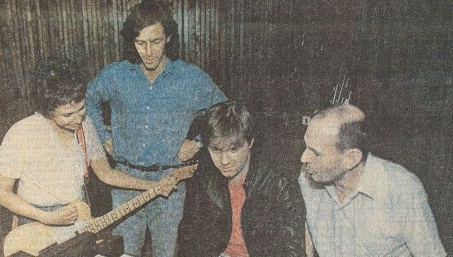 Carolyne Mas, Ron Gremp, Joe Terry and Lou Whitney (1989)
