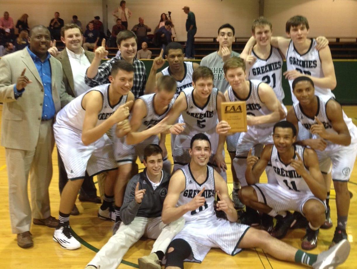 Christ School won the Carolinas Athletic Association regular-season and tournament championships last season.