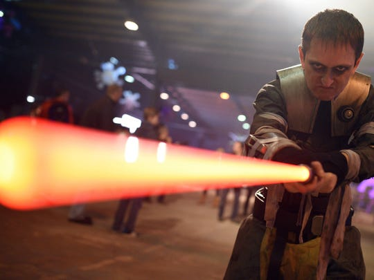 MSU professors say there's a science behind the 'Star Wars' lightsaber.